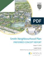 Smith Neighbourhood Plan Preferred Concept Report