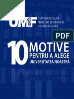 10 Motive Pentru a Alege UMF
