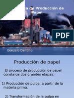 Industria de Producción de Papel