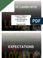Laws of Leadership