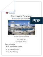 Wastewater. Exp2