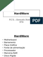 8ºG - HardWare - Gonçalo Nunes