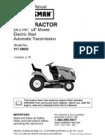 Mower Manual