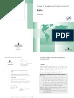 Strategi for Sveriges Utvecklingssamarbete med Kuba
