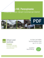 Camp Hill Borough Technical Assistance Panel Report