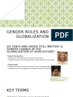 gender roles and globalization