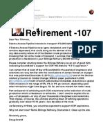 Retire Billings Refinery