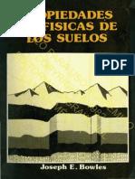 Joseph E. Bowles - Propiedades Geofisicas de los Suelos