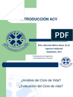 Introduccion a ACV - II Semestre 2013