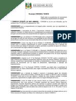 Resolução CONSEMA 323-2016 - Licenciamento de Irrigação