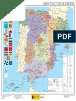 Mapa Espana Politico