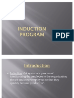 Induction program