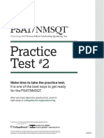 2016 PSAT Practice Test 2