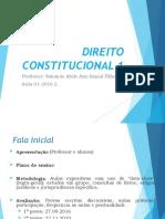 Introdução, Bliografia e Incio Conc e Constituc