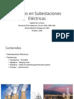 Avances en Subestaciones Eléctricas