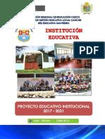 Proyecto Educativo Institucional N° 56038- Cuchuma- San Pedro_2017-2021