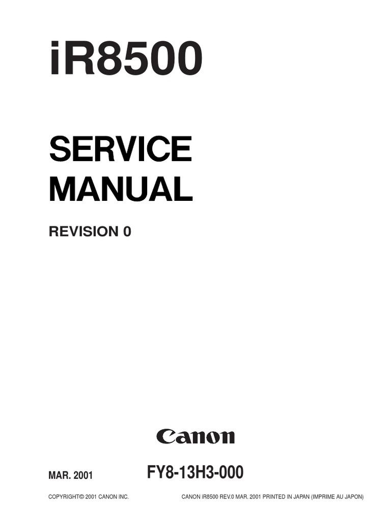 IR8500 Service Man | Image Scanner | Printed Circuit Board