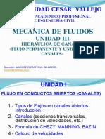 Unidad Iiia Hidraulica de Canales Ucv 2016 2