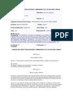 Convencion Sobre Prerrogativas e Inmunidades de Las Naciones Unidas