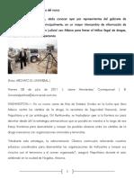 EU. Desata Consumo Violencia Del Narco