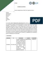 Informe de Entrega LEONARDO a JORGE