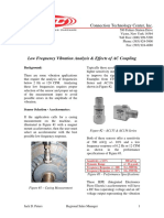 Low Frequency Vibration Analysis & Effects of AC Coupling