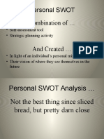 SWOT Analysis for Individuals Copy