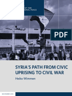 Syria's Path From Civic Uprising to Civil War