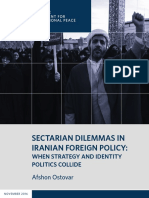 Sectarian Dilemmas in Iranian Foreign Policy