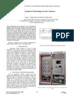 Informe Falla en Contactores de Corriente Alterna. Electrotecnia
