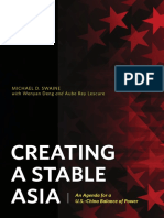 Creating a Stable Asia