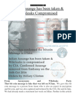 Julian Assange Has Been Taken & Wikileaks Compromised By The CIA.pdf