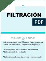 Filtracion