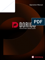 Dorico Operation Manual (English)