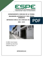 Informe N°3 Museo Precolombino Casa de Alabado.