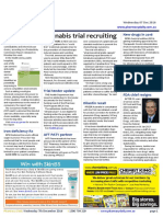 Pharmacy Daily for Wed 07 Dec 2016 - Cannabis trial recruiting, Call for more competition, Dilantin recall for correction, Health