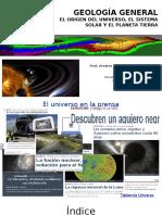 02 - Origen Del Universo y El Sistema Solar