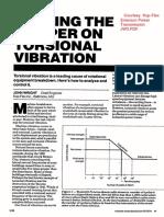 Putting the Damper on Torsional Vibration