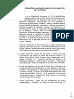 Pliego Interpelatorio para Ministro de Educacion Jaime Saavedra