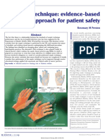 British Journal of Nursing Volume 14 Issue 10 2005 [Doi 10.12968%2Fbjon.2005.14.10.18102] Preston, Rosemary M -- Aseptic Technique- Evidence-based Approach for Patient Safety