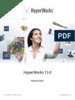 HyperWorks 13.0 ReleaseNotes