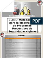 Curso de Metodologia en Seguridad e Higiene Para Supervisores