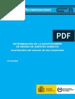 CR_04_2008 - Incertidumbre Metodos Químicos