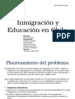 Inmigración y Educación en Chile
