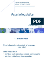 Vl Psycholinguistics Wrapup