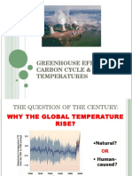 Greenhouse Effect, Carbon and Rising Temperature_Lecture.ppt