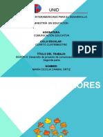 3.Desarrollo de proyectos de comunicación educativa