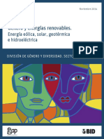 Género y energias renovables