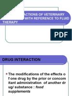 Veterinary Drug Interactions