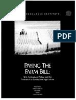 PAYING THE FARM BILL